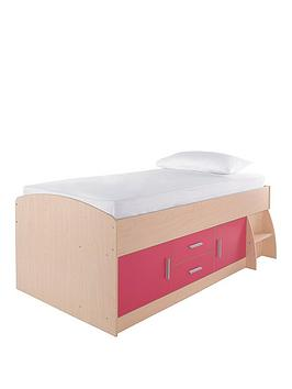 kidspace-jersey-cabin-bed-with-optional-mattress