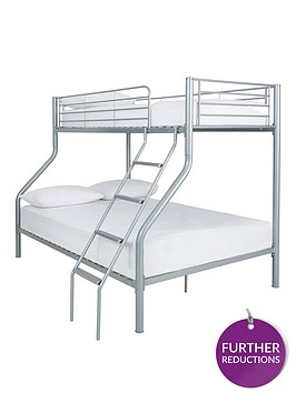 kidspace-domino-trio-bunk-bed-with-optional-mattress