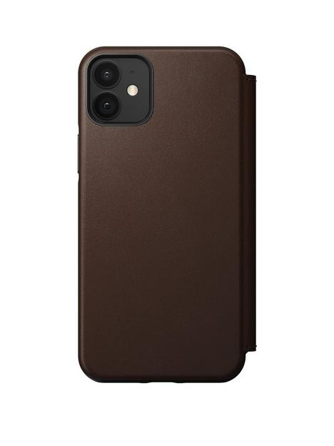 nomad-rugged-folio-rustic-brown-leather-magsafe-iphone-12-12-pro