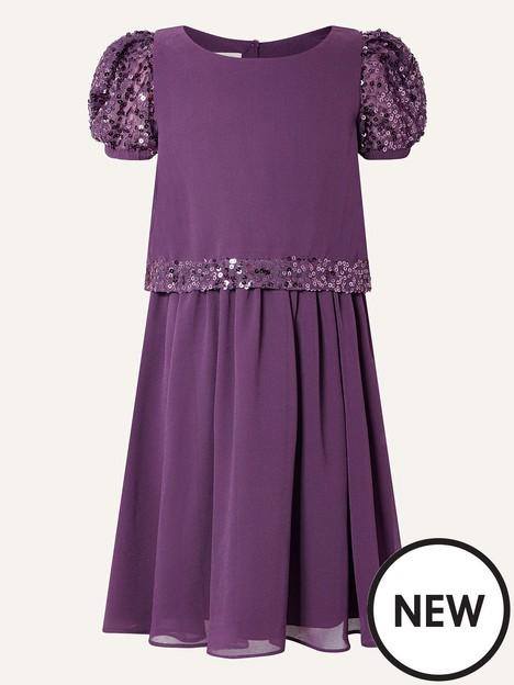 monsoon-girls-sew-sequin-sleeve-dress-purple
