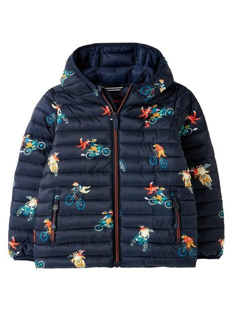 joules-boys-cairn-biker-animal-printed-packable-padded-coat-navy