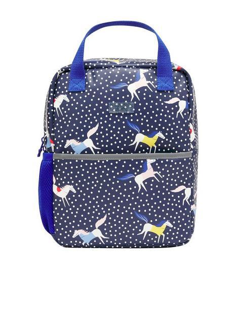 joules-girls-adventure-horse-spot-backpack-navy