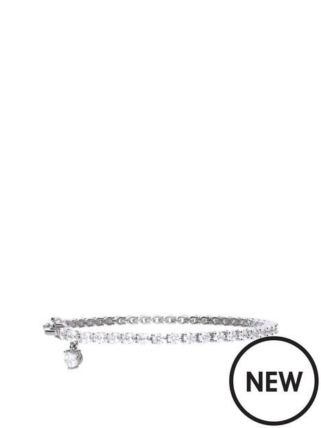 diamonfire-tennis-bracelet-with-charm