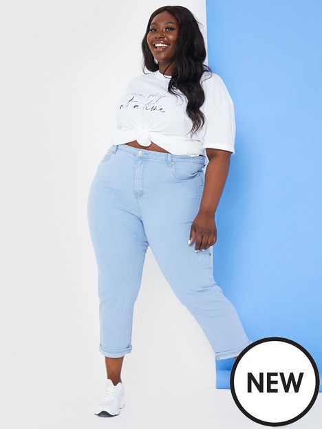 in-the-style-curve-in-the-style-curve-stacey-solomon-light-blue-high-waisted-cropped-jeans