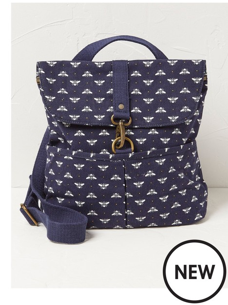 fatface-bee-backpack-navy