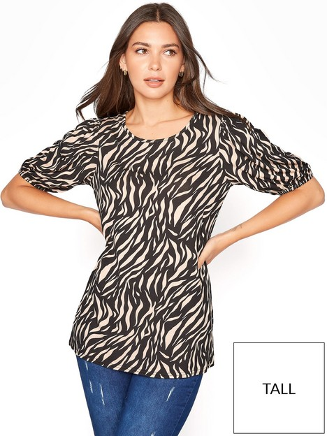 long-tall-sally-zebra-volume-sleeve-tee