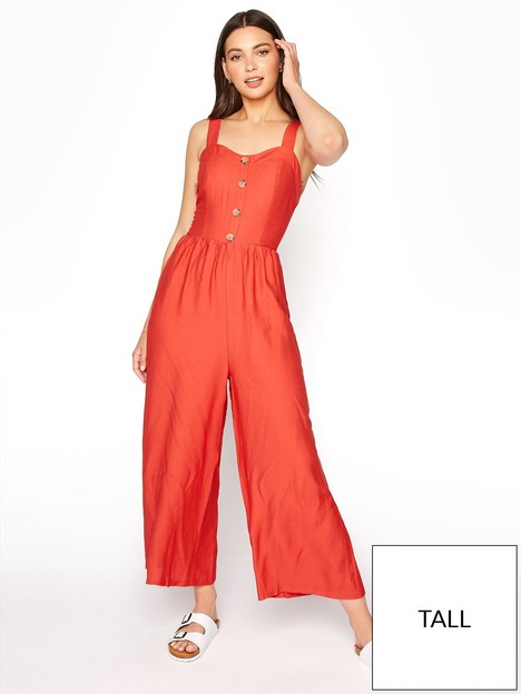 long-tall-sally-long-tall-sally-button-front-crop-jumpsuit-red