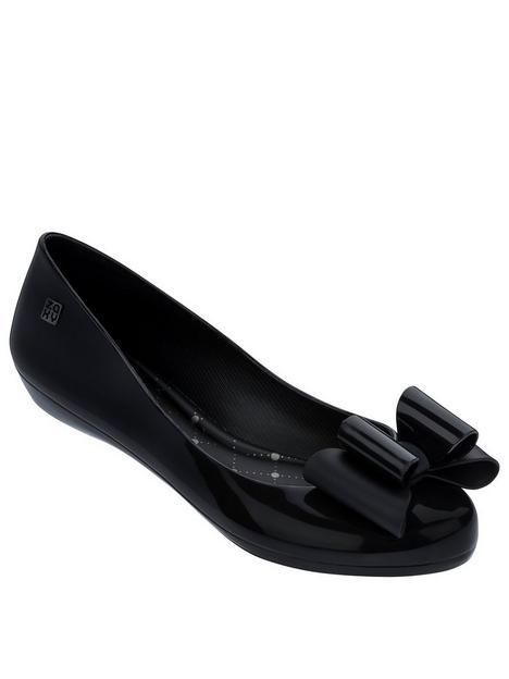 zaxy-pop-bow-classic-ballerina-black