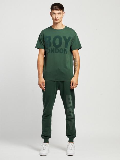 boy-london-boy-hemus-flock-t-shirt-forrest-green