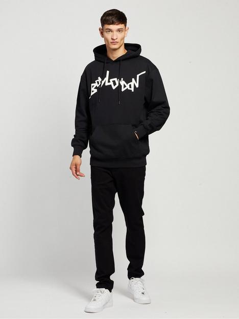 boy-london-boy-stick-hoodie-blacknbsp