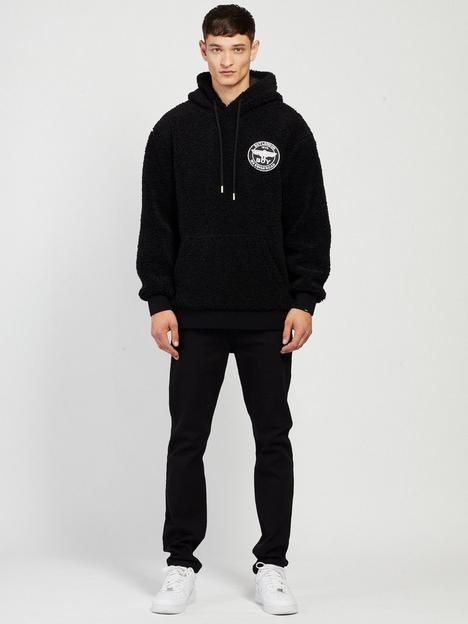 boy-london-boy-saint-sherpa-hoodie-blacknbsp