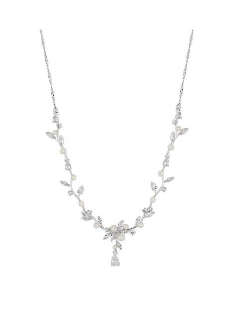 jon-richard-bridal-crystal-silver-drop-necklace