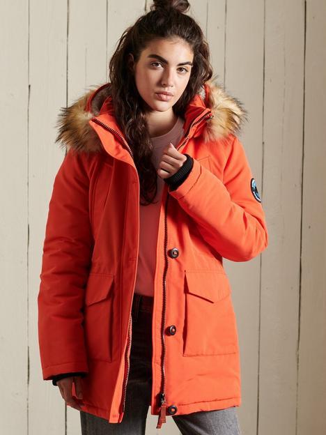 superdry-faux-fur-everest-parka-orange