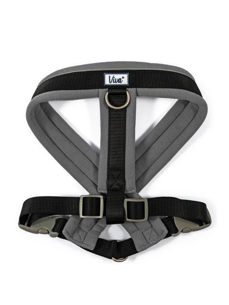 ancol-padded-harness-black-52-71cm