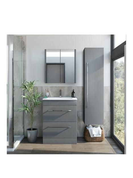 victoria-plum-grey-vanitynbspunit-600mm-with-mirror-cabinet-and-tall-storage-unit
