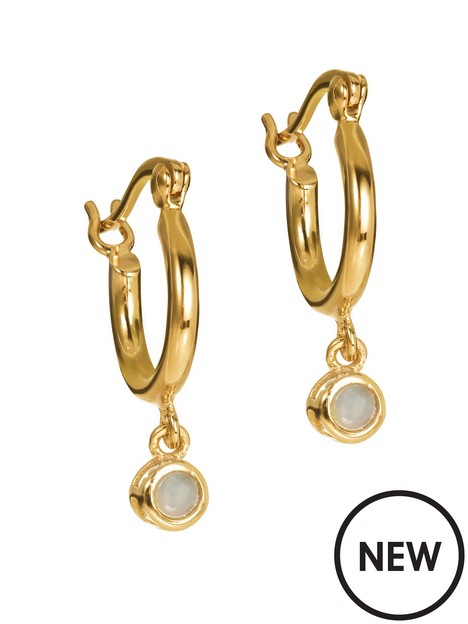 love-gem-gold-plated-amazonite-crystal-hoop-earrings