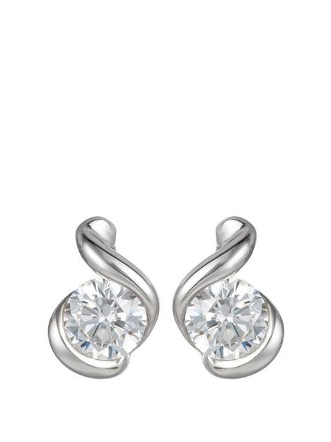 love-gold-9ct-white-gold-4mm-cubic-zirconia-swirl-stud-earrings