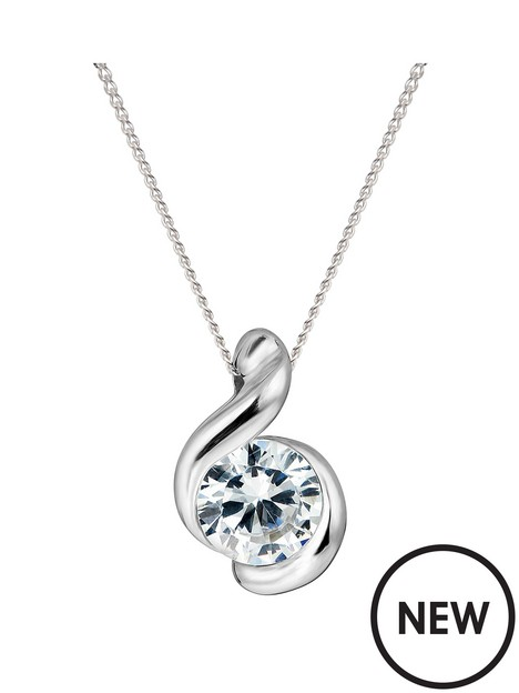 love-gold-9ct-white-gold-5mm-cubic-zirconia-swirl-pendant-necklace-18-inch-curb-chain