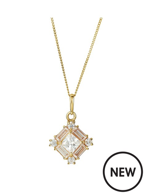 love-gold-9ct-yellow-gold-cubic-zirconia-pendant-necklace-18-inches