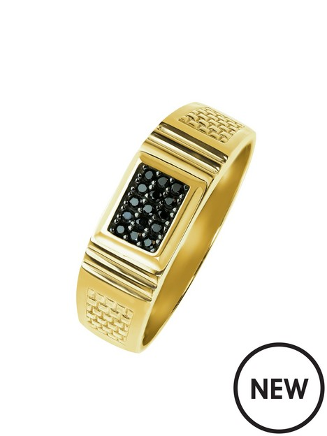 love-gold-mens-9ct-yellow-gold-black-cubic-zirconia-square-signet-ring