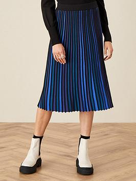 monsoon-monsoon-ceirios-colour-block-pleated-skirt