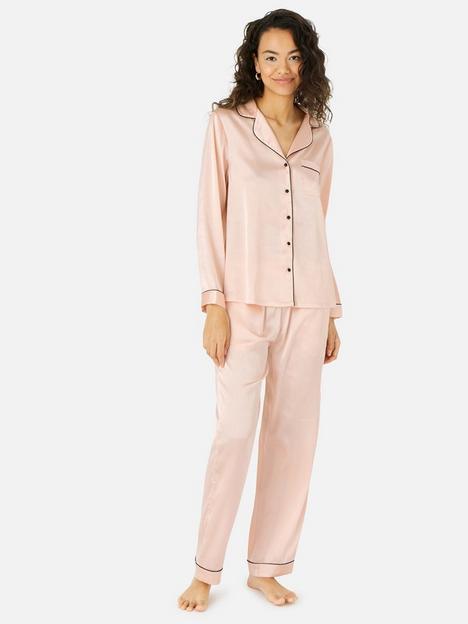 accessorize-accessorize-pink-satin-long-button-down-set