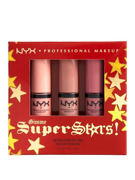 nyx-professional-makeup-nyx-professional-makeup-gimme-super-stars-butter-gloss-lip-trio-light-nude-gift-set-limited-edition