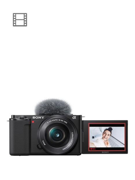 sony-alpha-zv-e10l-aps-c-mirrorless-interchangable-lens-vlog-camera-with-16-50-mm-f35-56-power-zoom-kit-lens-vari-angle-screen-for-vlogging-4k-video-real-time-eye-autofocus