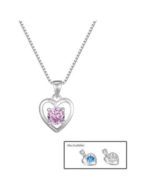 the-love-silver-collection-sterling-silver-heart-necklace-with-cubic-zirconia-stone-detail