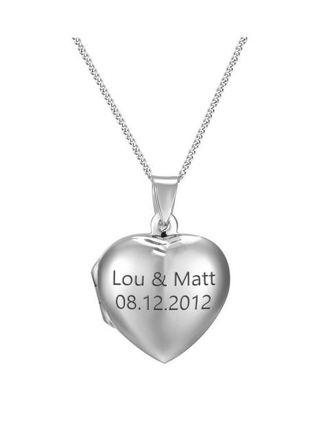 the-love-silver-collection-personalised-sterling-silver-heart-locket-adjustable-necklace