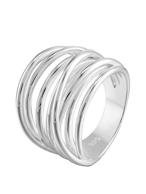 the-love-silver-collection-sterling-silver-twist-cross-over-ring