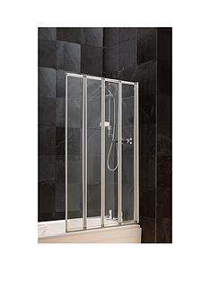 aqualux-4-fold-bath-shower-screen