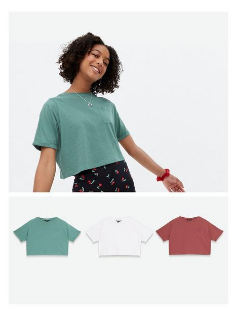 new-look-3-pack-pocket-tee-white-green-pink