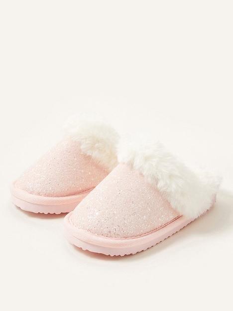 monsoon-girls-glitter-slider-slippers-pale-pink