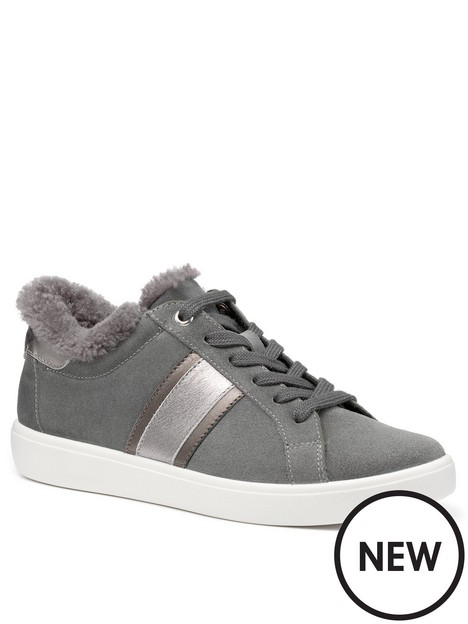 hotter-dash-wide-fit-trainers-grey
