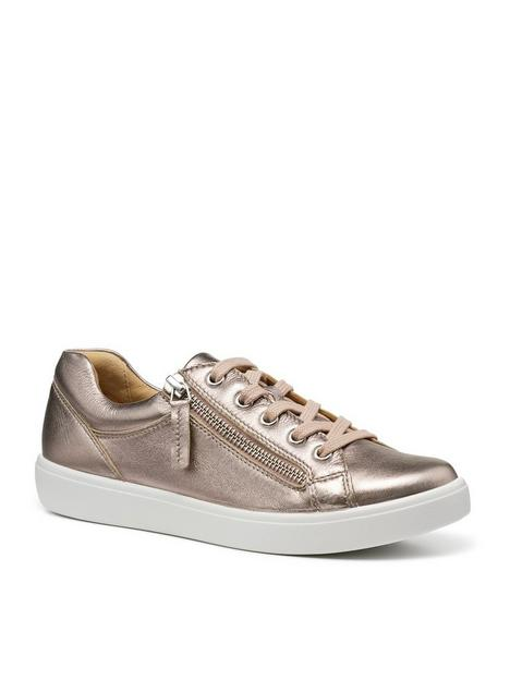 hotter-chase-wide-fit-trainers-rose-gold