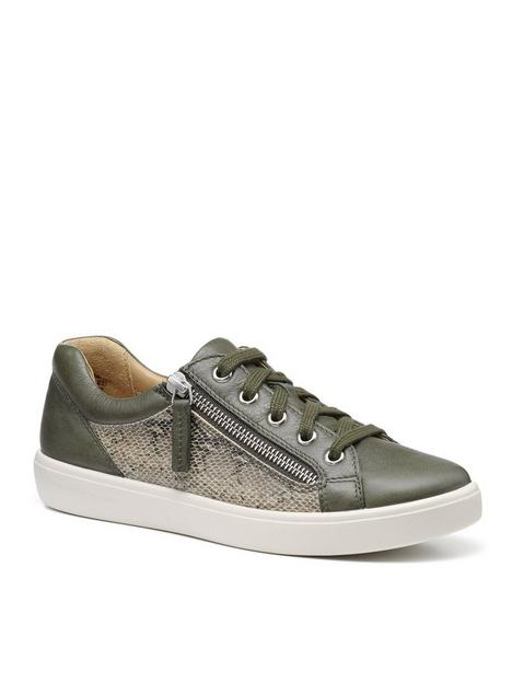 hotter-chase-extra-wide-fit-trainers-green