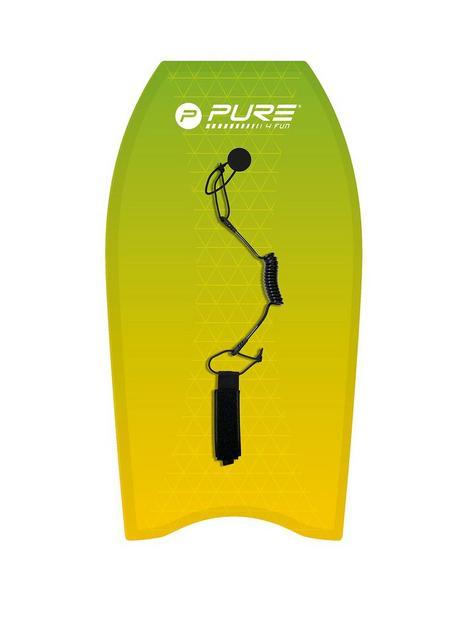 pure4fun-pure-composite-bodyboard-37-inch-and-xpe-core-with-leash-plug