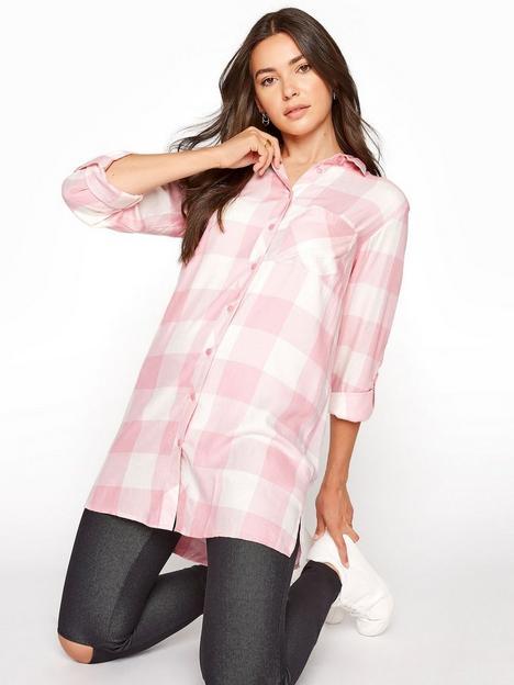 long-tall-sally-long-tall-sally-check-boyfriend-shirt-pink
