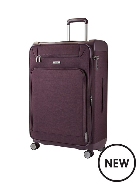 rock-luggage-parker-8-wheel-suitcase-large-purple