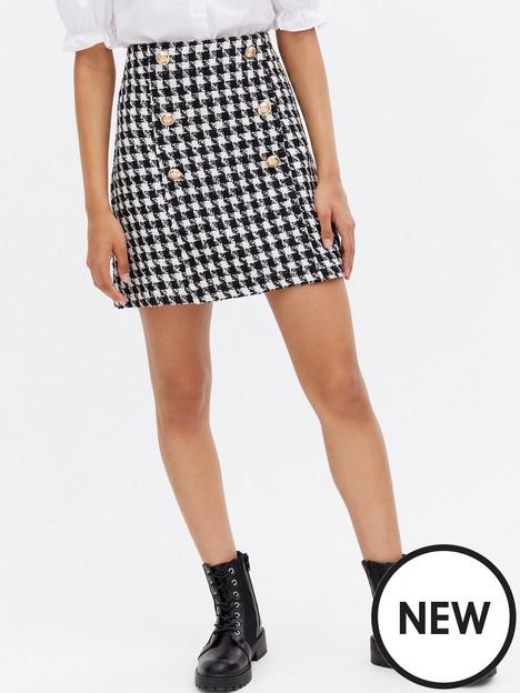 new-look-dogtooth-button-mini-skirt-blacknbsp