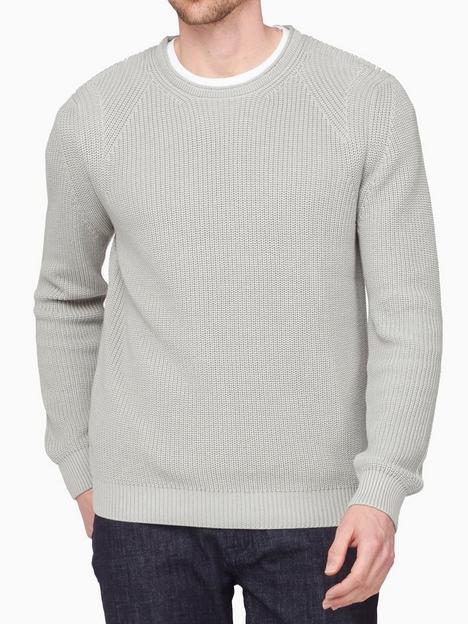 jeff-banks-engineered-rib-crew-neck-knit-grey