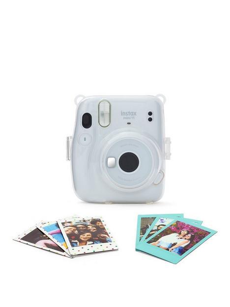 fujifilm-instax-instax-mini-11-ice-white-camera-bundle