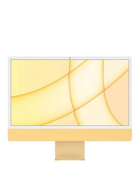 apple-imac-m1-2021-24-inch-with-retina-45k-display-8-core-cpu-and-8-core-gpu-512gb-storage-with-optional-microsoft-365-family-15-months-yellow