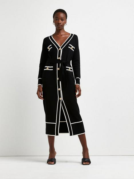river-island-belted-knitted-shirt-dress-black
