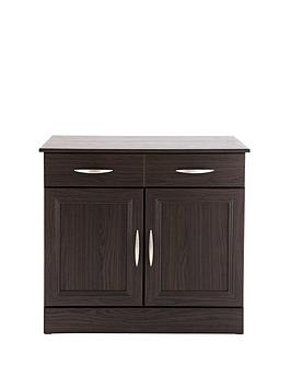 consort-kensington-ready-assembled-compact-oak-effect-sideboard