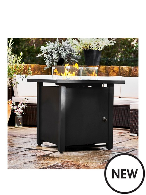 peaktop-peaktop-firepit-outdoor-gas-fire-pit-metal-with-glass-rocks-cover