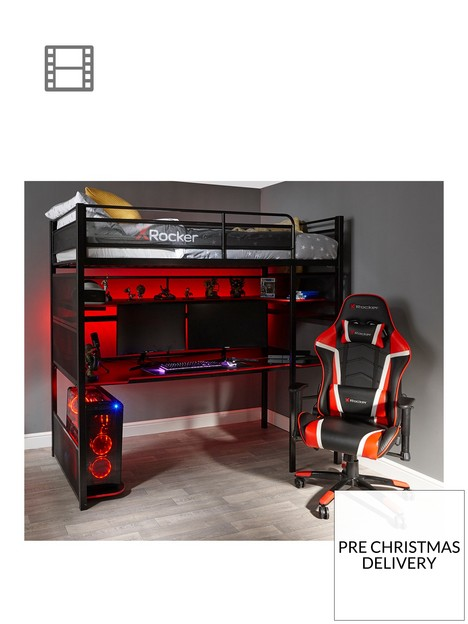 x-rocker-battlestation-high-sleepernbspbed-and-desk