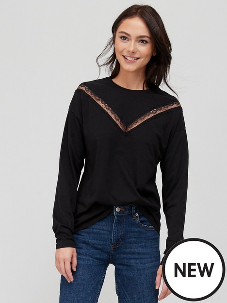 v-by-very-lace-insert-long-sleeve-t-shirt-black