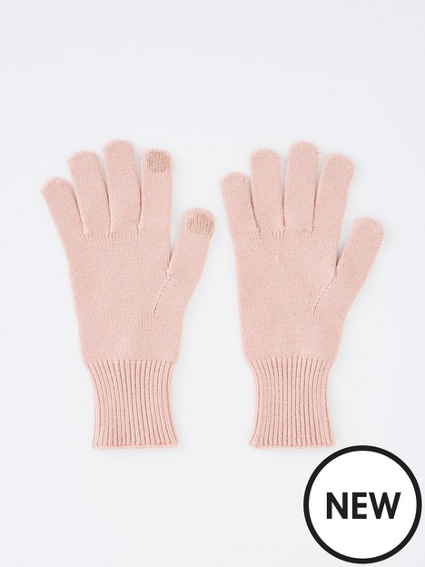pieces-touch-screen-gloves-rose
